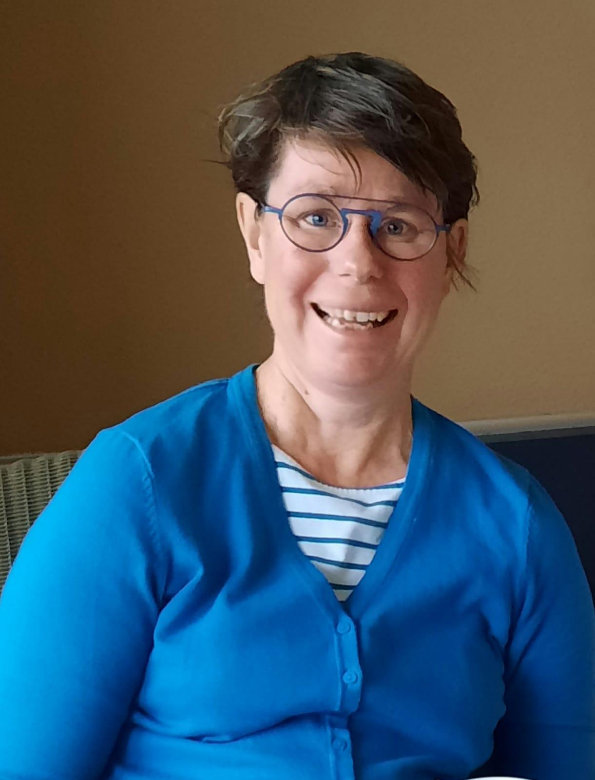 Gea van der Vaart-Maas, masseur in Amersfoort